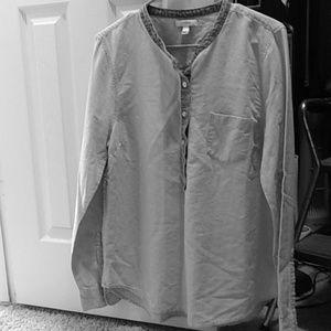J. Crew Jean shirt